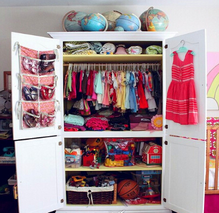 潮流卧室衣柜装修效果图欣赏